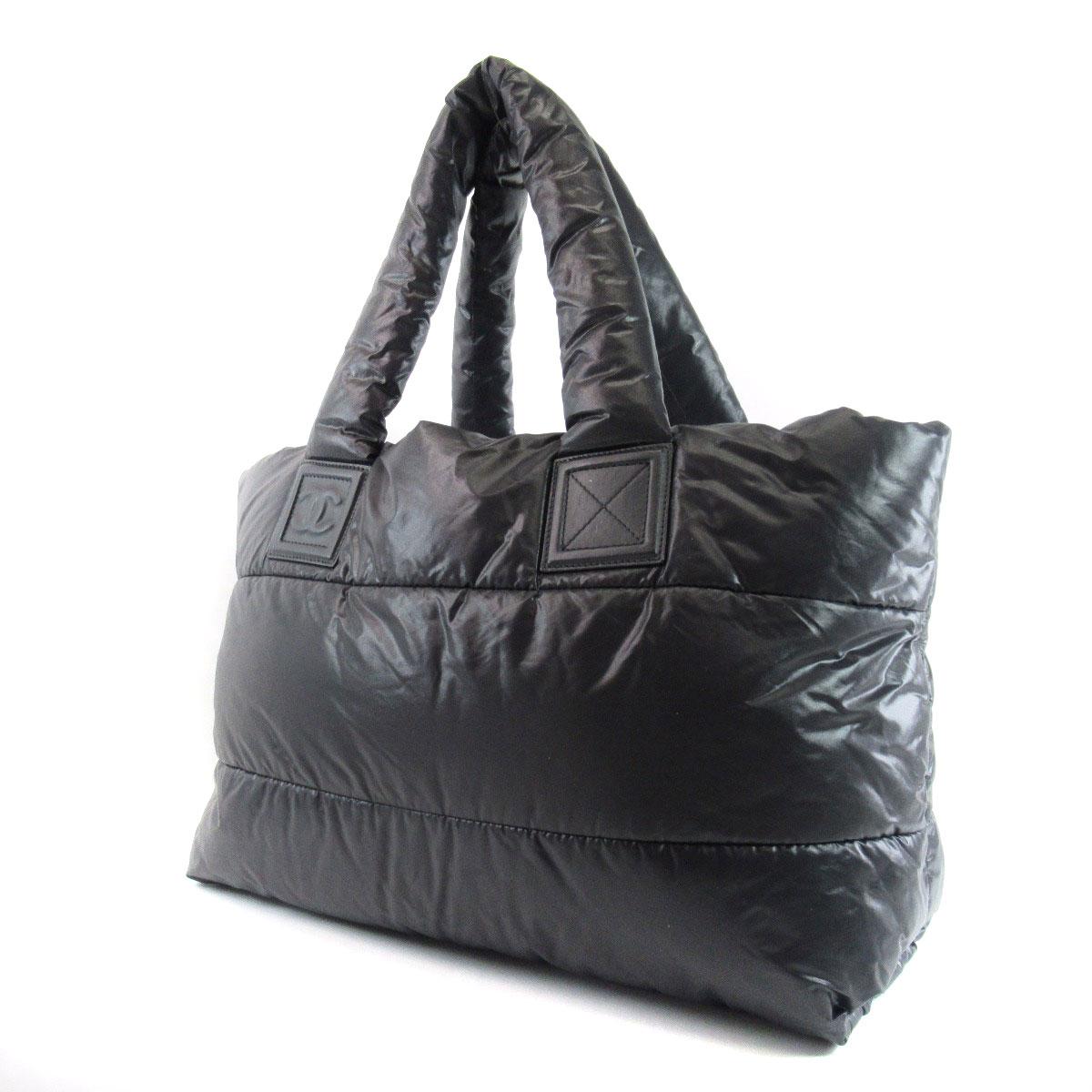 6fb4522b65fa Detalhes sobre CHANEL tote bag Coco Cocoon Nylon